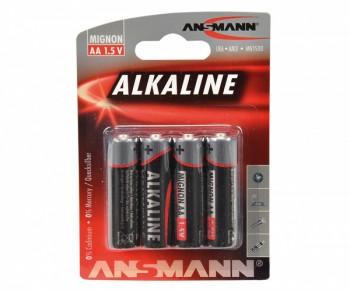 4er Set AA Batterien