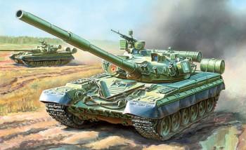 Zvezda 3590 T-80B Russian MBT 1:35