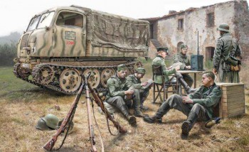 Italeri 6549 Steyr RSO/01 with German soldiers + accessories 1:35