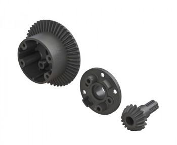 Arrma AR310802 Diff Case 49T Main Gear 17T Input Gear Set ARAC4025
