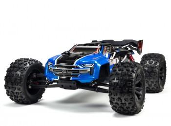 M1:8 Arrma KRATON 6S BLX 4WD Monster Truck Power Set blau