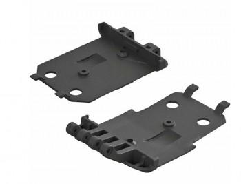 Arrma AR320419 F/R Lower Skidplate (2) 4x4 Senton ARAC9261