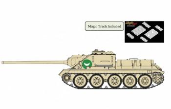Dragon 3572 Egyptian SU-100 Tank Destroyer 1:35