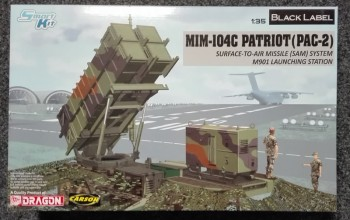 Dragon 3604 MM-104C Patriot Surface-to-Air Missile 1:35