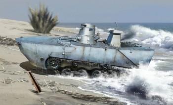 Dragon 6916 IJN Type 2 (Ka-Mi) Amphibious Tank 1:35