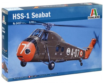 Italeri 1417 HSS-1 Seabat 1:72