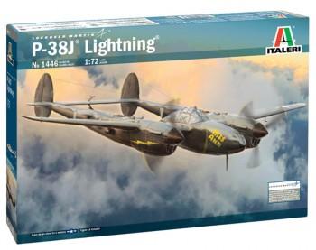 Italeri 1446 P-38J Lightning 1:72