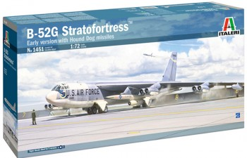 Italeri 1451 B-52G Frühe Ausführung mit Hound-Dog 1:72