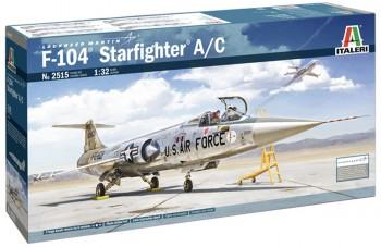 Italeri 2515 TF-104 A/C Starfighter 1:32
