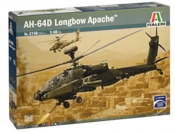 Italeri 2748 AH-64D Apache Longbow 1:48
