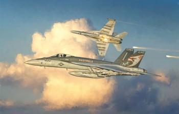 Italeri 2791 F/A-18 Super Hornet 1:48
