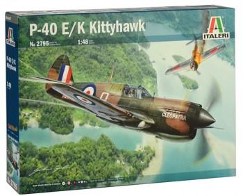 Italeri 2795 P-40E/K Kittyhawk 1:48