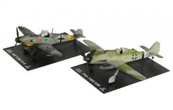 Italeri 35101 BF109 F-4 and FW 190 D9 War Thunder 1:72