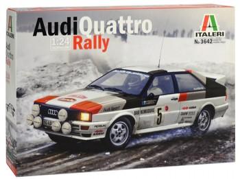 Italeri 3642 Audi Quattro Rally 1:24