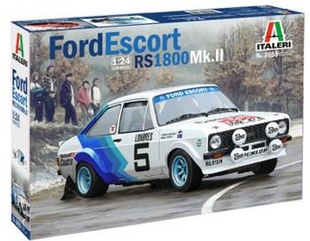 Italeri Ford Escort RS1800 Mk.II 1:24 3655
