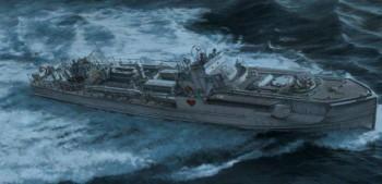 Italeri 5620 Schnellboot Typ S-38 4.0cm Flak 28 1:35