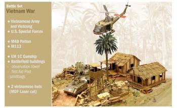 Italeri 6184 Vietnam War M1:72
