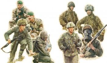 Italeri 6191 Nato Truppen M1:72