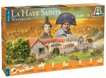 Italeri 6197 Battle-Set Waterloo La Haye Sainte 1:72