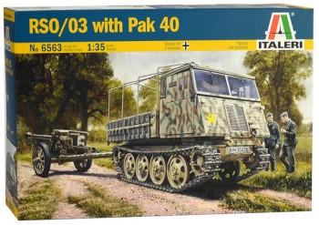 Italeri 6563 RSO/03 with PaK 40 1:35