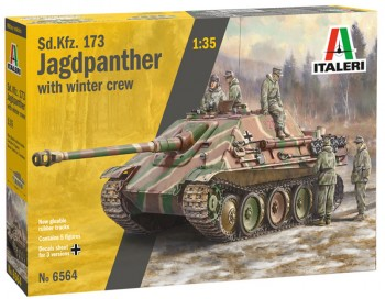 Italeri 6564 SdKfz 173 Jagdpanther+winter crew 1:35