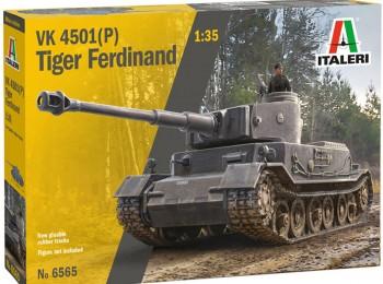 Italeri 6565 Tiger Ferdinand VK4501 (P) 1:35