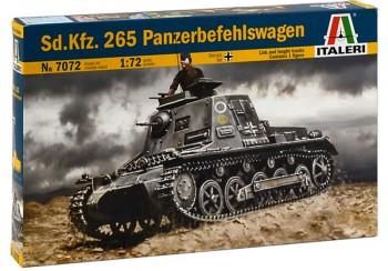 Italeri 7072 Sd.Kfz 265 Kleiner Panzerbefehlswagen 1:72