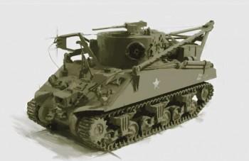 Italeri 6547 M32 Recovery Vehicle 1:35