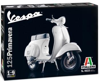 "Italeri 4633 Vespa 125 ""Primavera"" 1:9"