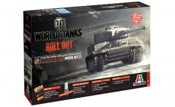 Italeri Panzerkampfwagen VI Tiger WoT 1:35 36502