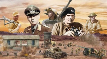 Italeri 6181 WWII El Alamein Battle Railway Station 1:72