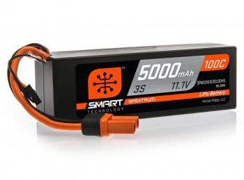 5000mAh 11.1V 3S Spektrum IC5 Lipo Akku 100C
