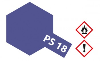 PS-18 Polycarbonat-Farbe Metallic Violett 100ml