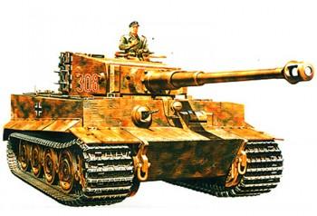 Tamiya WWII SdKfz 181 PzKpfw VI Tiger I E 1:35 35146