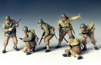 Tamiya Fig.-Set US Infanterie Angriff 1:35 35192