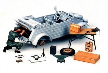 Tamiya Wartungsset Kübelwagen 1:35 35220