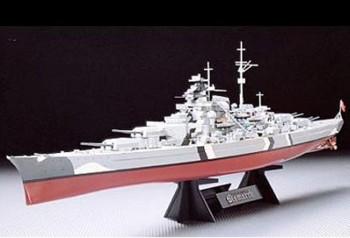 Tamiya 78013 WWII Dt. Kampfschiff Bismarck 1:350
