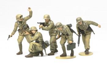 Tamiya WWII FigSet Deutsche Afrika Korps Infanterie 1:35 35314