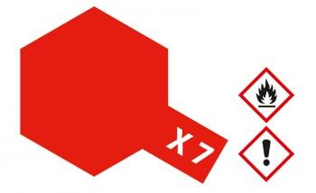 X-7 Rot glänzend 23ml (100ml=13,04€)