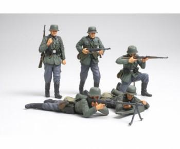Tamiya WWII Fig-Set Dt. Infantrie Frankreich 1:35 35293