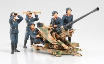 Tamiya WWII Dt. 3,7cm Flak37 mit Trupp 1:35 35302