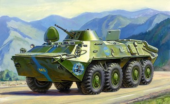 Zvezda 3556 BTR-70 Soviet APC 1:35
