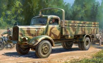 Zvezda 3596 WWII Dt.Transport-LKW L4500A M1:35