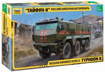 Zvezda 3701 Russian Armored Vehicle Typhoon-K M1:35