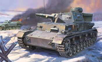 Zvezda 3641 Panzer IV Ausf E Sd.Kfz.161 1:35