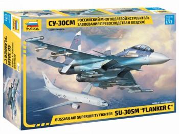 Zvezda 7314 Sukhoi SU-30 SM Flanker-C 1:72