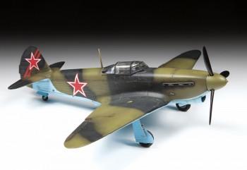 Zvezda 4817 YAK-1B Soviet Fighter 1:48