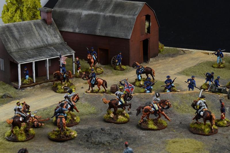 Italeri American Civil War:Farmhouse battle 1:72 510006179 Italeri 6179  X