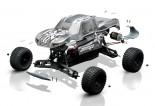 M1:10 ECX Monster Truck Kit 2WD Bausatz RTR