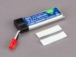 EFLB5001S25 E-flite 1S 3,7V 500mAh 25C LiPo-Akku